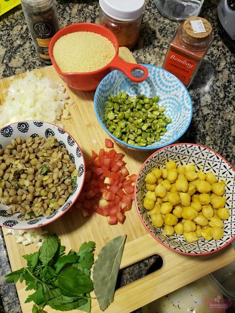 Receita Couscous Marroquino com Grãos