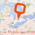 Live Mobile Location  & GPS Coordinates Download
