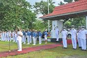 Satgas KJK 2021 Ziarah Tabur Bunga di TMP Pulau Morotai