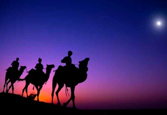Os 3 Reis Magos e a Estrela de Belem