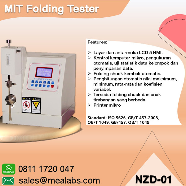 NZD-01 MIT Folding Tester