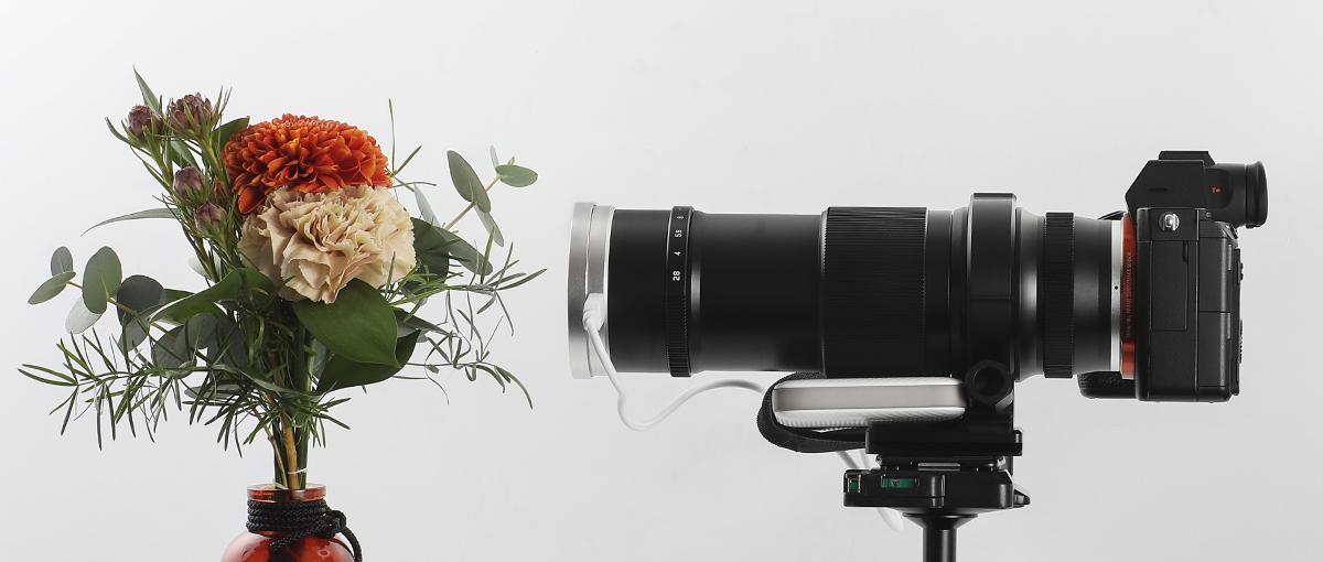 Использование объектива Zhong Yi APO 85mm f/2.8 Super Macro 1-5x FE для съемки цветов