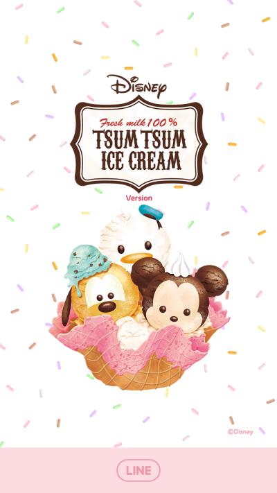 Disney Tsum Tsum (Ice Cream)