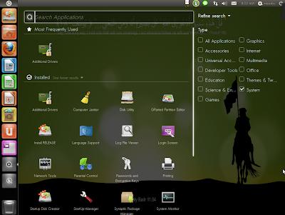 Tampilan Linux Sabily 11.04 - karyafikri.blogspot.com
