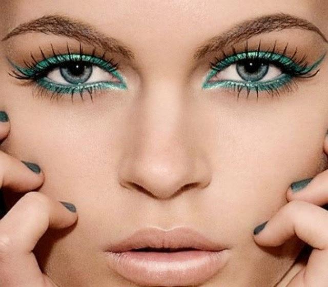 5016878320be7 دروس ظلال العيون بما يتناسب مع العيون الخضراء - فاشون