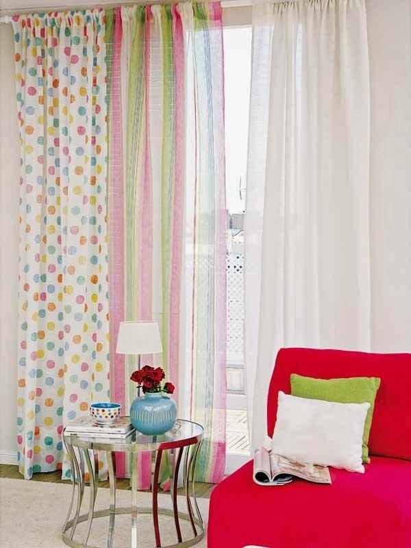 Ventanas que se visten con visillos for Visillos para cortinas