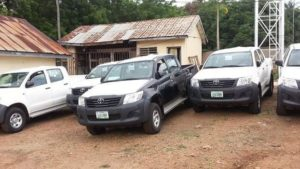 BENUE SUBEB GETS VEHICLES AND MOTORCYCLES FOR PROJECTS IN THE STATE