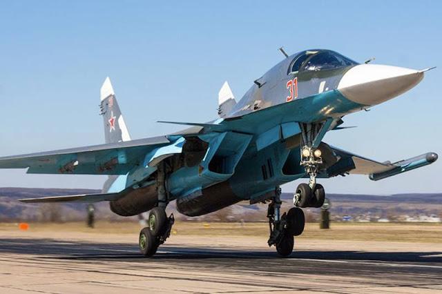 Russia Algeria Su34 order
