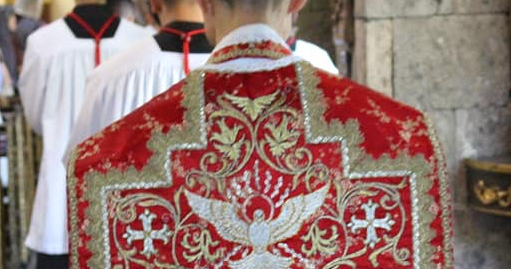 Vestments for the Pentecost Octave ~ Liturgical Arts Journal