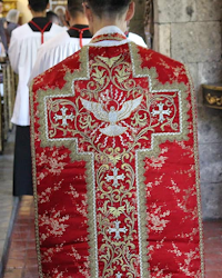 Vestments for the Pentecost Octave