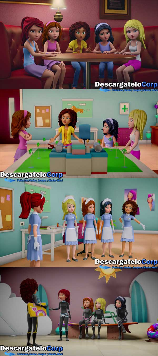 LEGO Friends Girlz 4 Life HD 1080p Latino