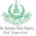 Aiou past papers MSc Botany 3rd Semster