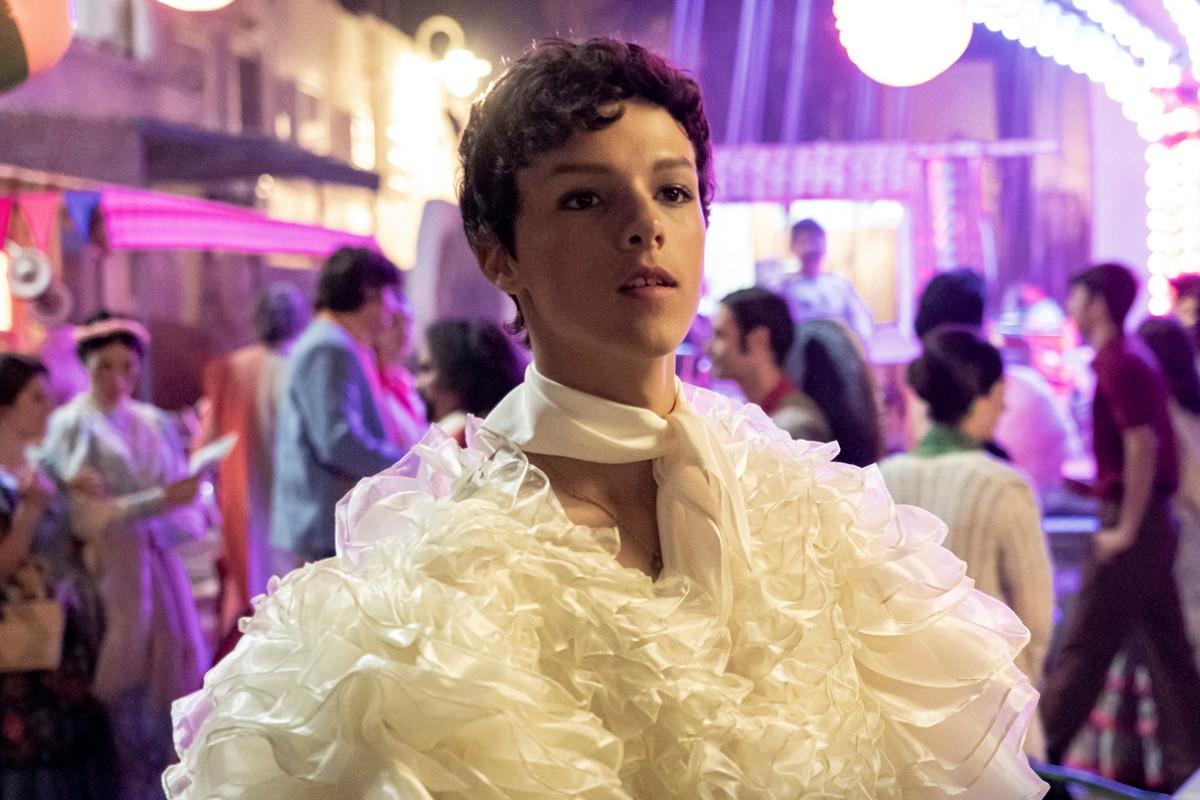 Marcos Sotkovszki interpreta a 'La Veneno' en su adolescencia en el biopic de Atresplayer