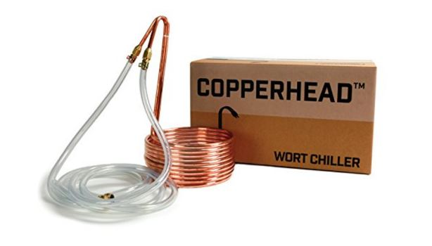 copper head immersion wort chiller