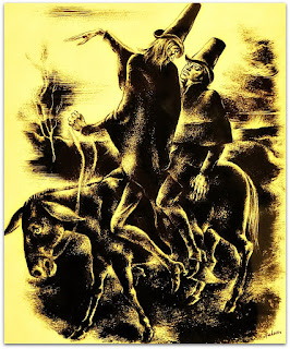 O Satã Conduz Macário para A Cidade - João Fahrion, 1940