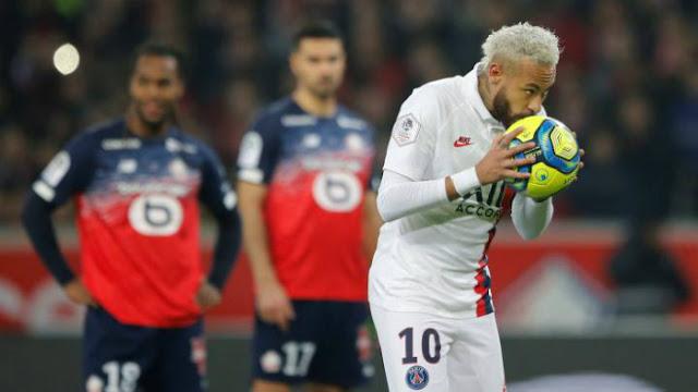Video Lille 0-2 PSG: Neymar rực sáng chạy đà săn cúp