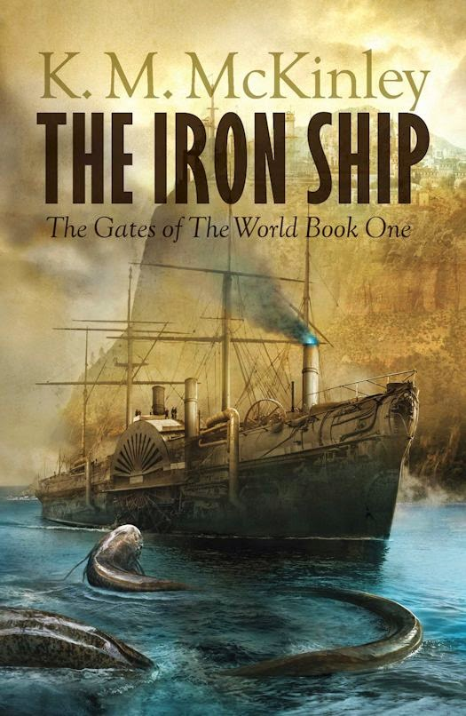 Cover and Novel Revealed - The Iron Ship by K. M. McKinley