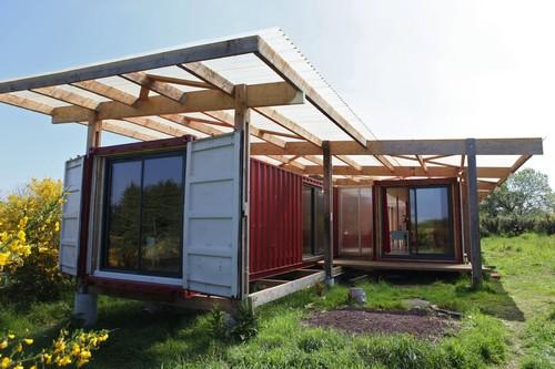 l 39 inventeur num rique des maisons en container. Black Bedroom Furniture Sets. Home Design Ideas