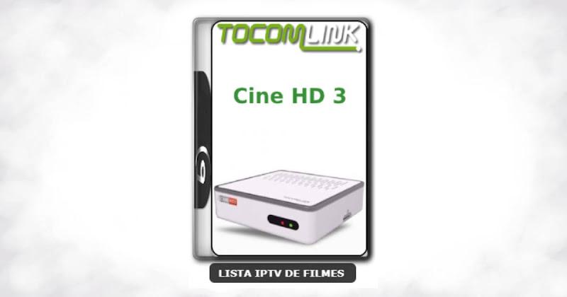 Tocomlink Cine HD 3 Nova Atualização Satélite SKS Keys 61w ON V1.009