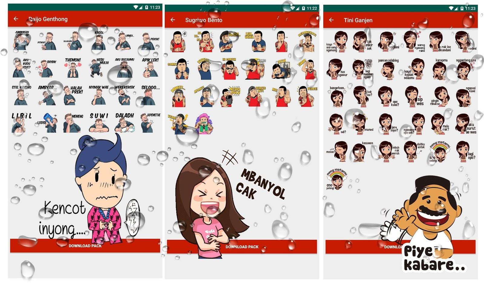 5 Aplikasi Sticker Jowo Lucu Whatsapp Stiker Wa Guyon Jawa
