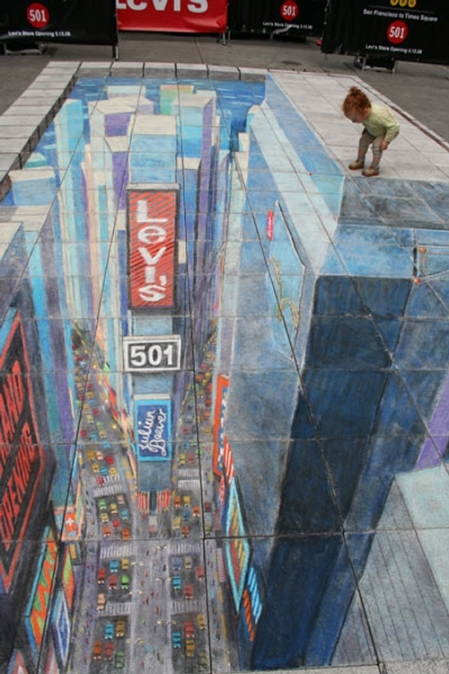 02-Time-Square-New-York-City-Julian-Beever-3D-Pavement-Drawings-Anamorphic-Illusions-www-designstack-co
