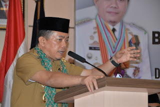 Gubernur Jambi H.Alharis Kunjungi Instansi Vertikal Perkuat Pembangunan Jambi