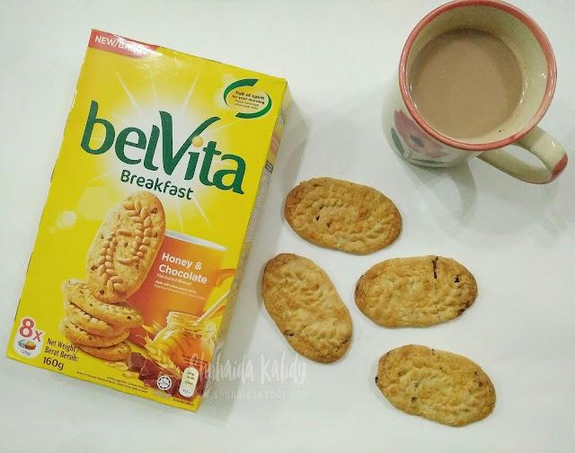 belvita biskut pilihan sarapan pagi