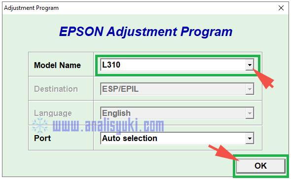 Cara Reset Epson L310 Lengkap dengan Gambar