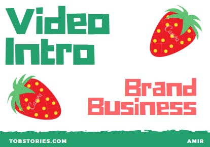 100+ video Intro for branding Business