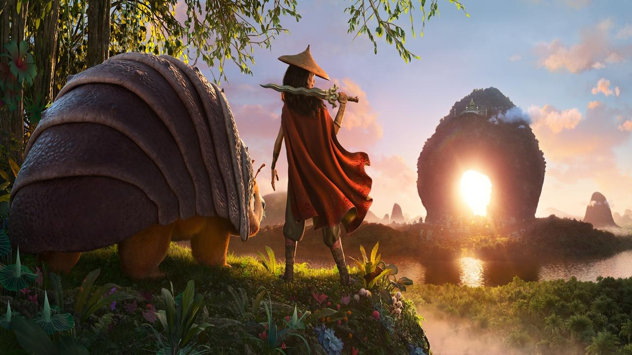 Raya e o Último Dragão  Disney+ divulgou trailer da animação Assista!