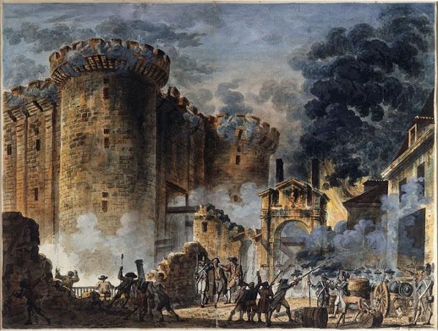 14 Luglio 1789, la presa della Bastiglia.