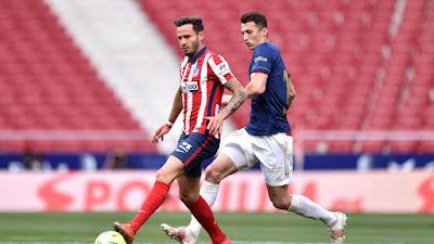 ملخص واهداف مباراة اتلتيكو مدريد واوساسونا (2-1) الدوري الاسباني