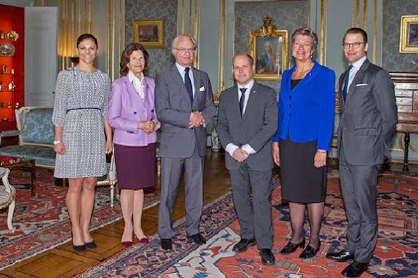Swedish Royal Family Held A Lunch At The Royal Palace
