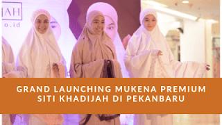 Mukena Siti Khadijah Mukena Premium Dengan Desain Minimalis