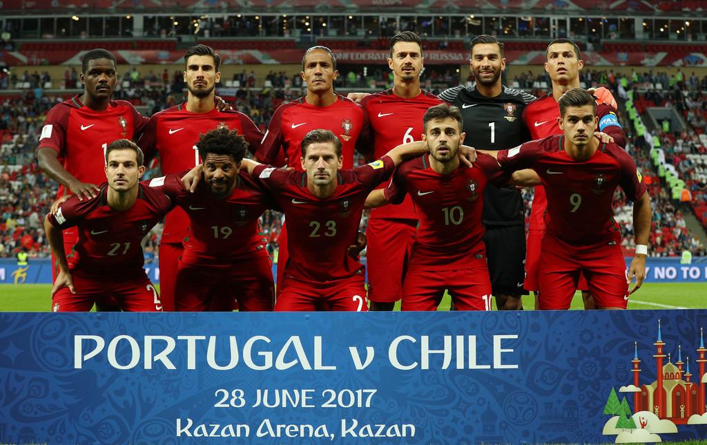 Formación de Portugal ante Chile, Copa Confederaciones 2017, 28 de junio