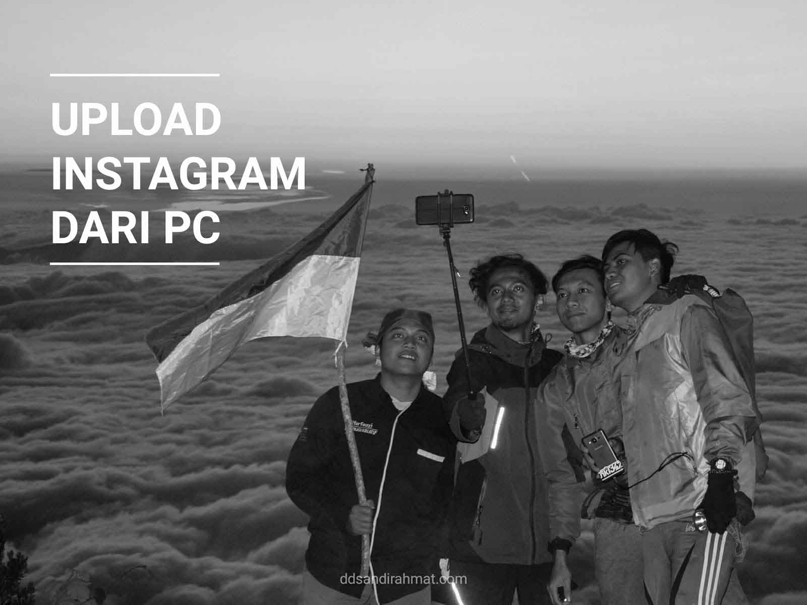 Cara Upload ke Instagram dari PC