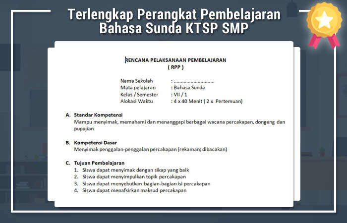 Terlengkap Perangkat Pembelajaran Bahasa Sunda Ktsp Smp Wiki Edukasi Wiki Edukasi