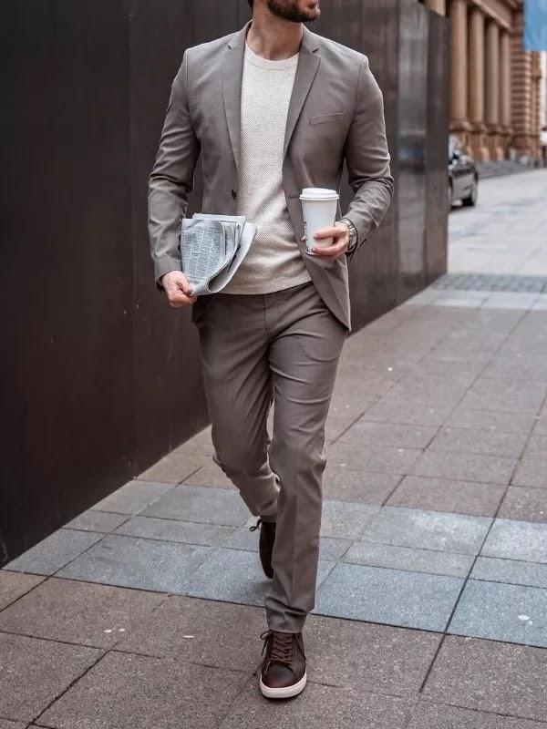 Sweatshirts and suit combo