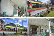 Kantor Kelurahan Kumersot Mendapatkan Perhatian Khusus Dari TNI Kodim 1310/Bitung
