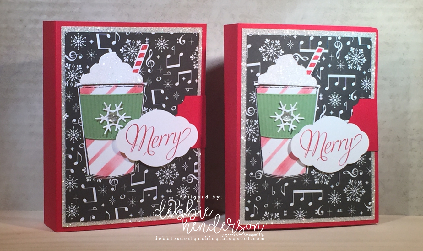 Debbie\'s Designs: Christmas Multiple Gift Card Holders!