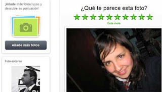 calificar fotos en Badoo