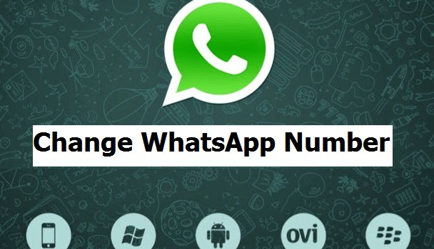 How to Change your WhatsApp number without losing your data