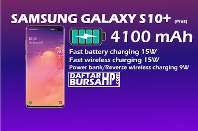 Spesifikasi Baterai Samsung Galaxy S10+ (Plus)