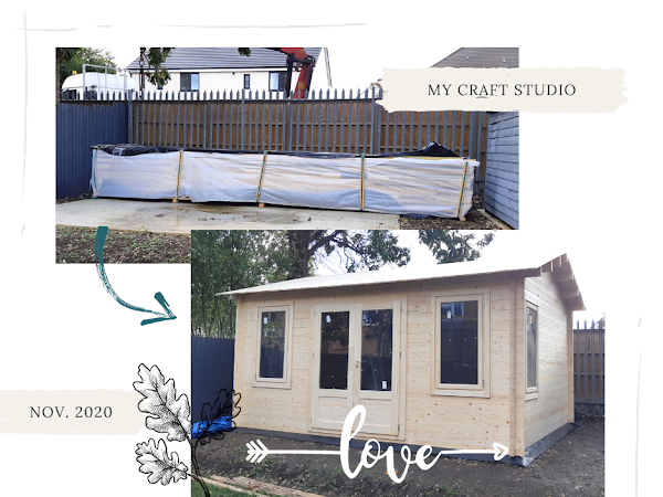 Craft Room in a Shed? Short Story of my Studio