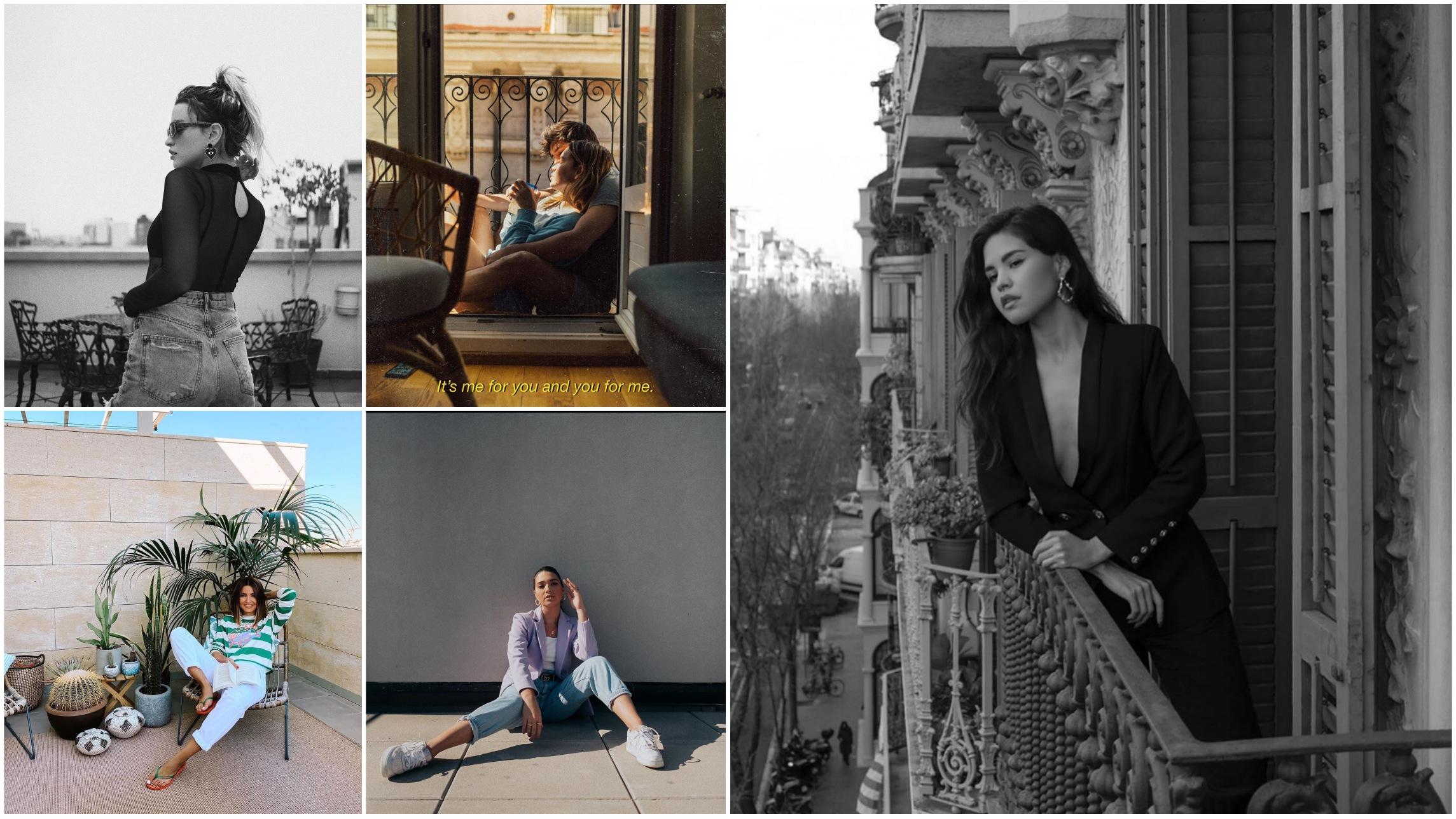 11 estilos de fotos en casa para las redes sociales