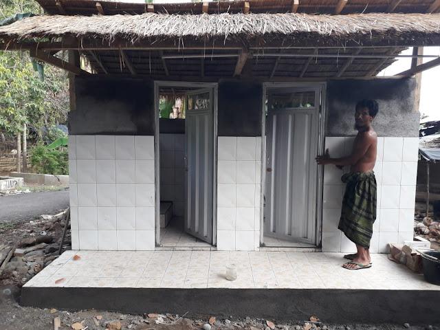 Inilah Fasilitas MCK Dibangun Skala dan CSR Sampoerna Untuk Indonesia di Lombok
