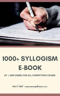1000+ Syllogism E-Book By IBPS Guide