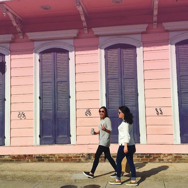 St. Anne Street Pink House New Orleans by Kelsey Social