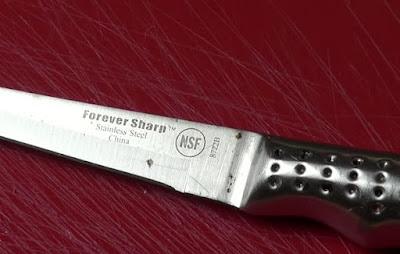 วิธีขจัดคราบสนิมบนมีด - How To Remove Rust Stains From Knives