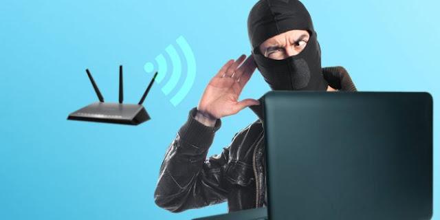 Cara Mengetahui Yang Mencuri WIFI Kita